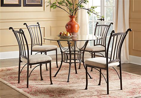 hoyt metal 5 pc dining set dining room sets metal