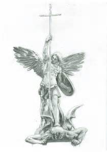 st michael s victory over the devil by karackoma on