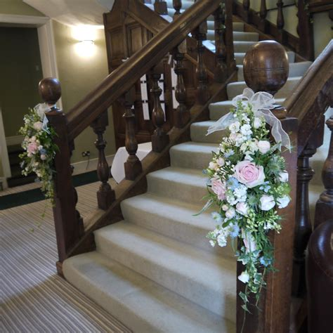 banisters flowers natural beauty