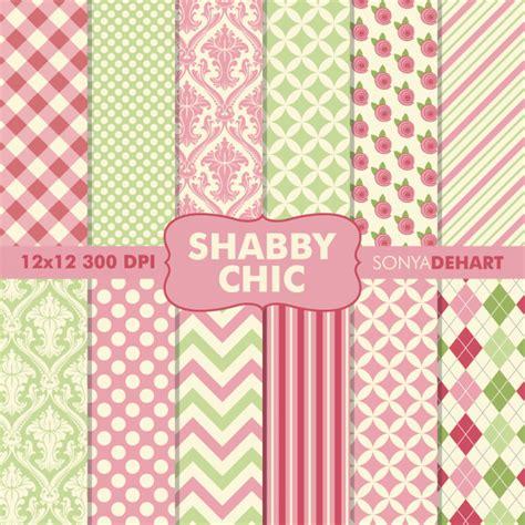 shabby chic patterns digital printable paper patterns shabby chic