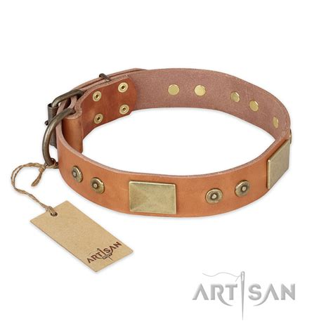 Handcrafted Leather Collars - the middle ages fdt artisan handcrafted leather