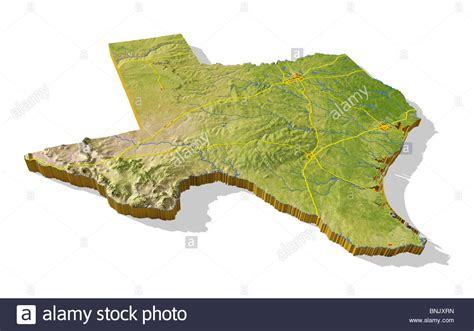 relief map of texas relief map of texas my