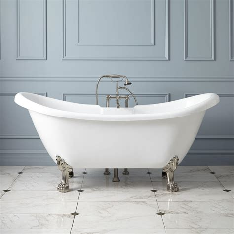 bathtub feet acrylic tubs acrylic clawfoot bathtubs signature hardware