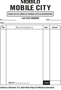 mobile bill template mobile billing format rabitah net