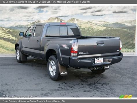 2013 Toyota Tacoma Trd Sport 2013 Toyota Tacoma V6 Trd Sport Cab 4x4 In Magnetic