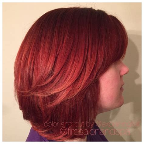 hair cuts with red colour 2015 8 best images about fire salon hair on pinterest hair