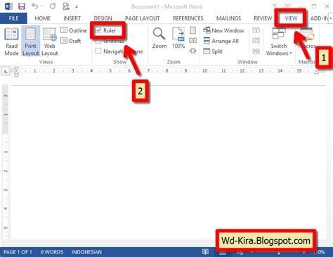 cara membuat blog rapi cara membuat titik titik daftar isi pada microsoft word
