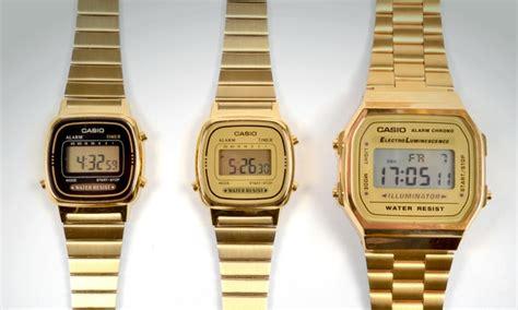 casio color oro reloj casio color oro