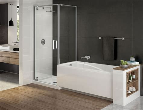 modulr custom tub shower combo