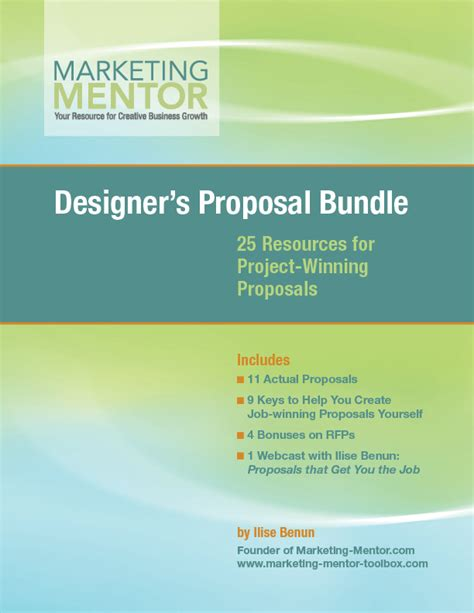 graphic design proposal layout how to write a graphic design proposal rfp templates