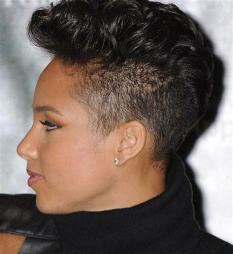 girl hairstyles shaved best mohawk hairstyles for mens and women s mohawk