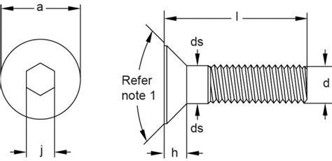 Dijamin Baut Hex M10 X 120 Sus304 countersunk flat socket cap screws socket cap screws