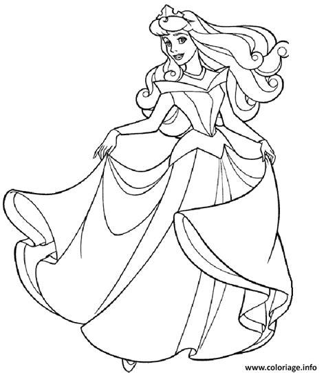 Princesse Aurore Coloriage L