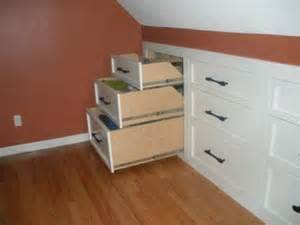 Easy Basement Wall Ideas by Learn How To Install Knee Wall Storage Home Design