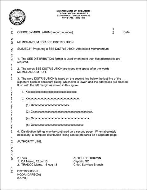 Dod Memorandum Template by Dod Memorandum Format Best Template Design Images