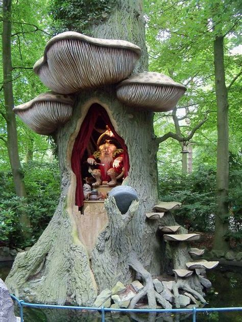 the troll king in efteling theme park kaatsheuvel