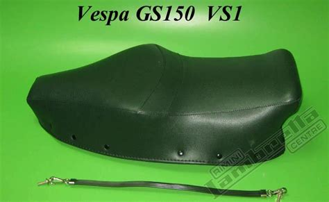 assistenza sella copertina sella con maniglia per vespa gs150 vs1 verde