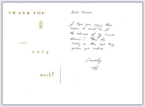 Thank You Letter Lawyer letter thank you to client