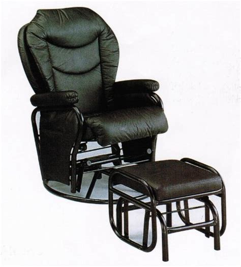 metal glider with ottoman black friday swivel glider rocker chair with ottoman black