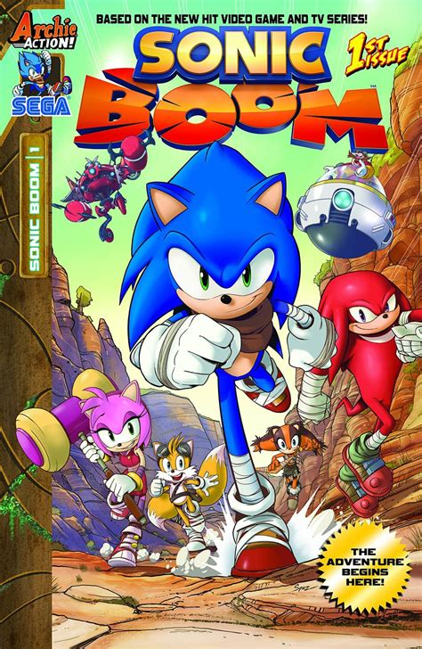 Tiang Rem Twotone Sonic Dan Wave preview sonic boom 1 racing into a comic store near you
