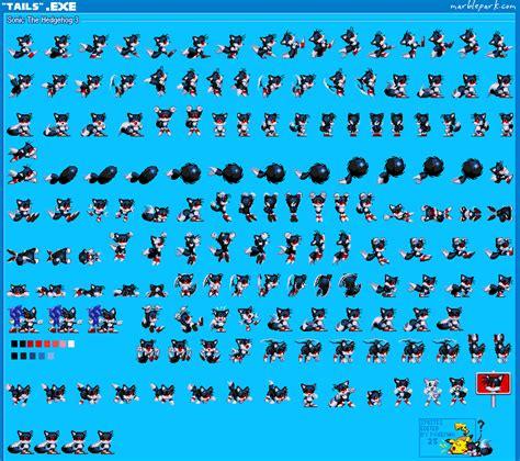 Kaos Fox Buy Side tails exe sprites by pokeman25 on deviantart
