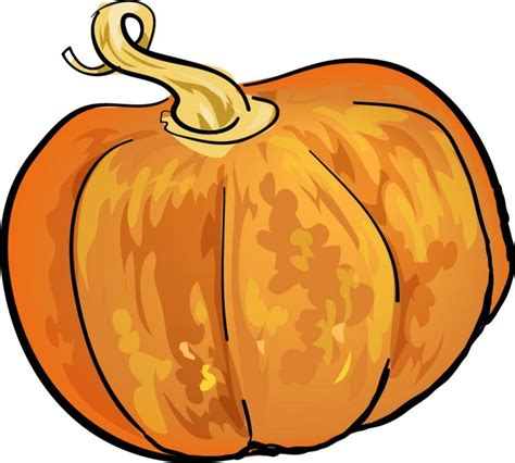 drawing of a pumpkin for land sky and sea 10 01 2011 11 01 2011