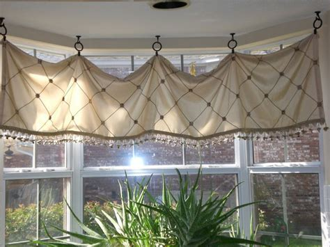 Dining Room Window Valances 1000 id 233 es sur le th 232 me rideaux du bow window sur