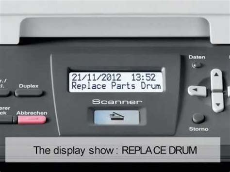 resetting brother drum counter brother dr3000 dr3100 dr3200 dr6000 drum counter reset