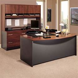 T Shaped Desk With Hutch by Bush Series C U Shaped Desk With 4 Door Hutch And Lateral
