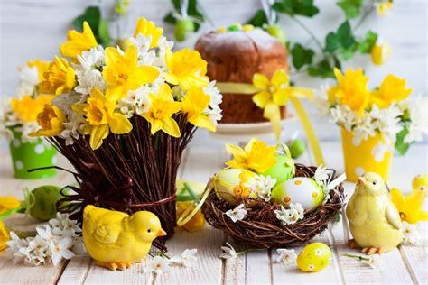 fiori di pasqua pasqua fiori per la tavola e la casa pollicegreen
