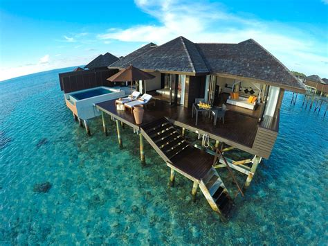 overwater bungalow 5 beachy resorts to stay at in maldives cond 233 nast