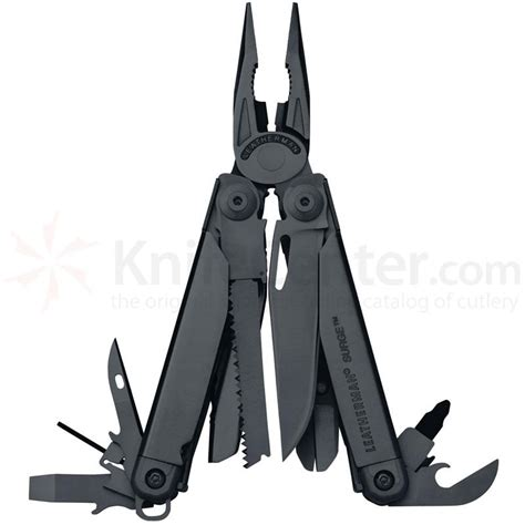 How Do You Sharpen Kitchen Knives Leatherman Surge Black Full Size Multi Tool With Molle