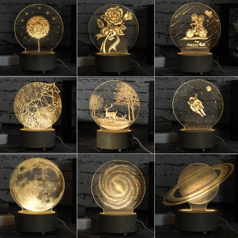 b toys light me to the moon 3d led night light apollobox
