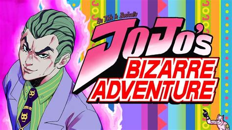 libro jojos bizarre adventure so this is basically jojo s bizarre adventure youtube