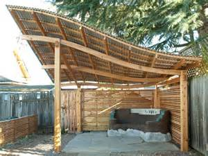 Tin Roof Pergola by Standing Seam Metal Roof Over Pergola Google Search