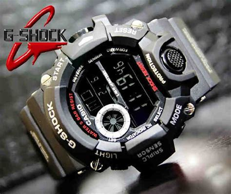 Jam Tangan G Shock Rangeman Black casio g shock rangeman gw 9400 code 4os189 219 000 jam