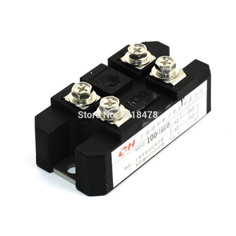 rectifier diode bridge manufacturers aliexpress buy 100a 1600v wave diode module one phase bridge rectifier mdq 100a from