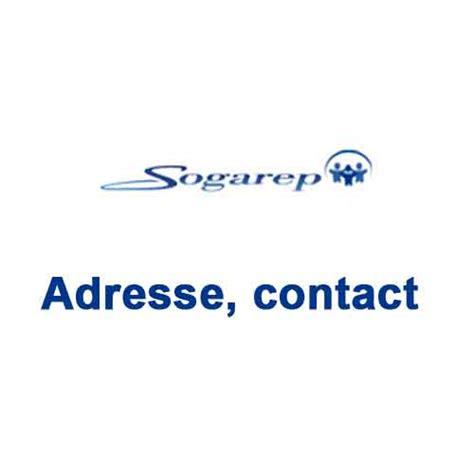 adresse du si鑒e social sogarep adresse contact