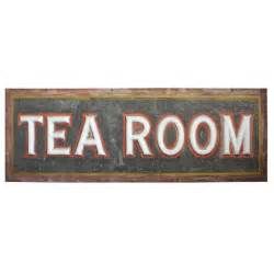room signs late 1800s sided light up quot tea room quot sign at 1stdibs