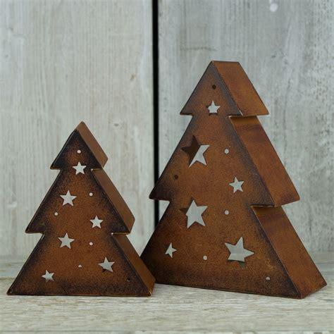 metal tree tealight holder satchville gift co christmas