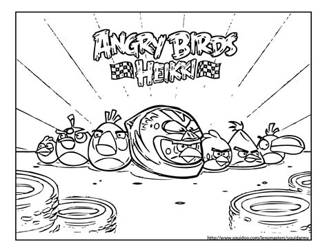 angry birds go karts coloring pages angry birds coloring pages squid army