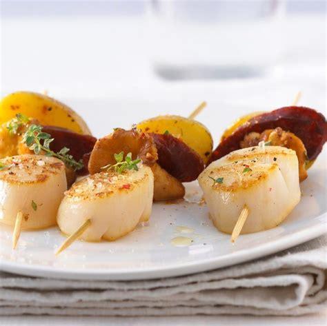 brochettes de fruits de mer sur b b q recette les 579 meilleures images du tableau poisson fruits de