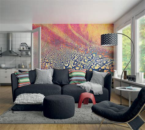 colorful wall murals colourful imprint wall mural
