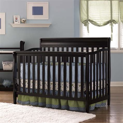 Graco Stanton Convertible Crib Graco Stanton 4 In 1 Convertible Crib In Espresso 04530 669