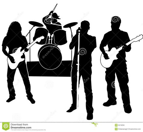 clipart musicali band cliparts