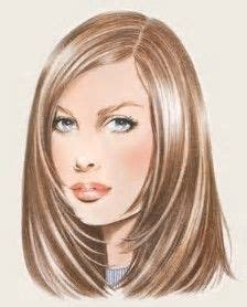 hairstyles that are angled towards the face best 25 face framing layers ideas on pinterest face