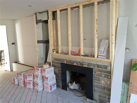 how to find a house that needs renovation concrete fireplace renovation toronto anthony concrete design