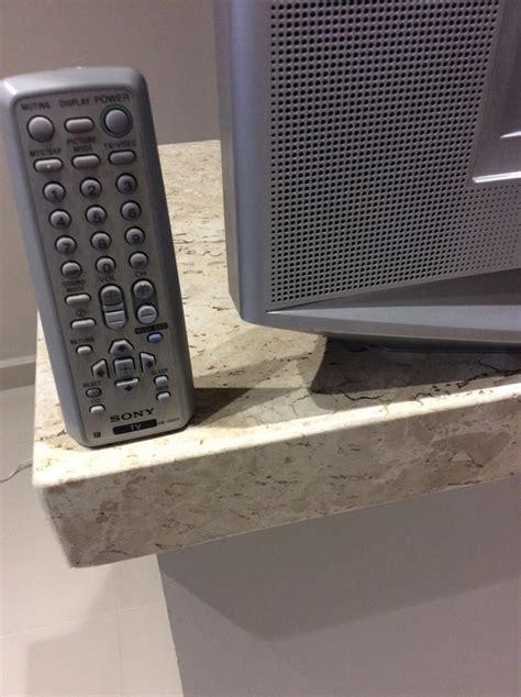 sony wega tv l televisor sony wega trinitron 29 r 480 00 em mercado livre