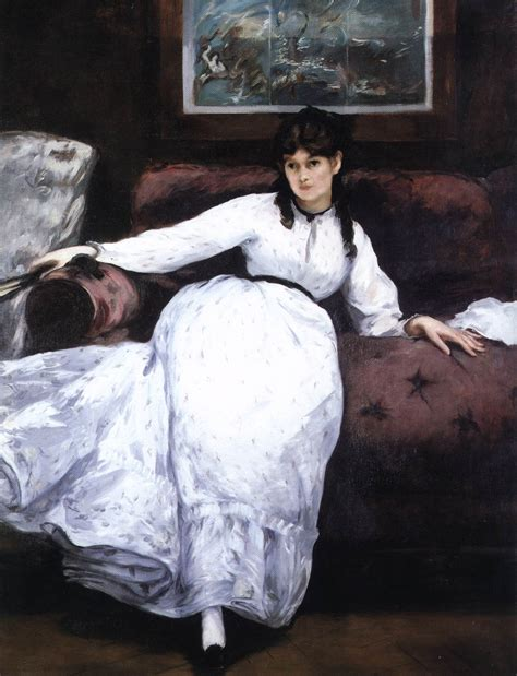 manet reclining woman artventures manet and morisot the tale of love and