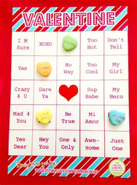 conversation hearts bingo cards template 23 images of conversation bingo template elecitem